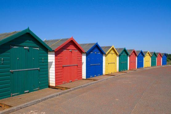 Beach-huts-at-Dawlish-Warren-South-Devon